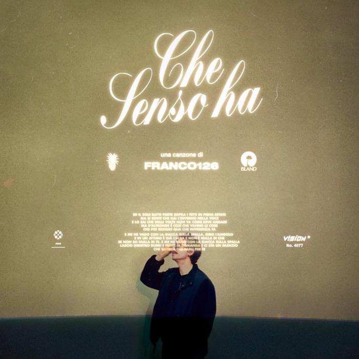 """Franco126 lancia il nuovo singolo """"Che senso ha"""""""