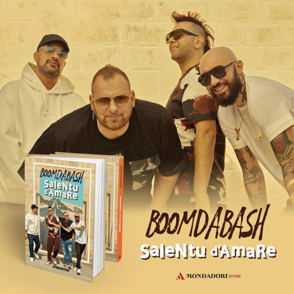 """""""Salentu d'amare"""" il libro dei Boomdabash"""