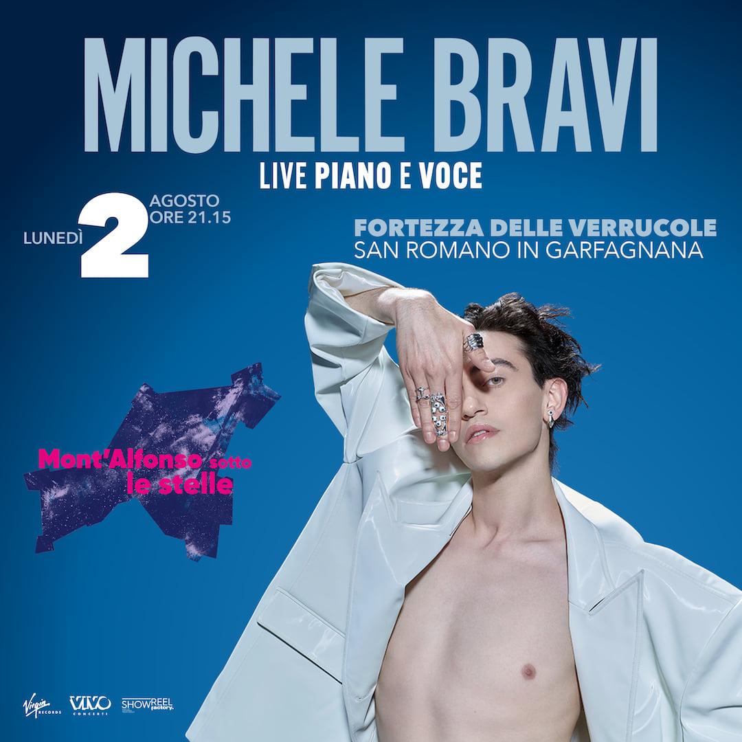 Michele Bravi e l'intimo live delle Verrucole